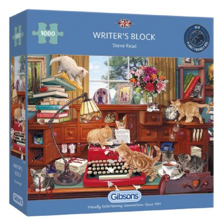 Writer's Block by Steve Read 1000 Piece Gibsons Jigsaw